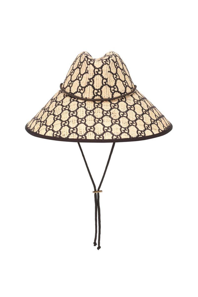 https hypebeast.com image 2019 03 gucci gg raffia wide brim hat 1 1