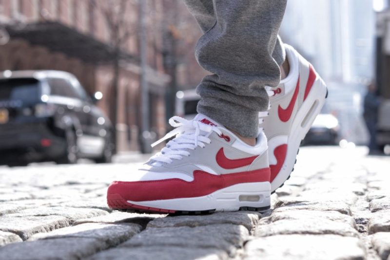 NIKE AIR MAX 1 OG SPORT RED 6 of 12